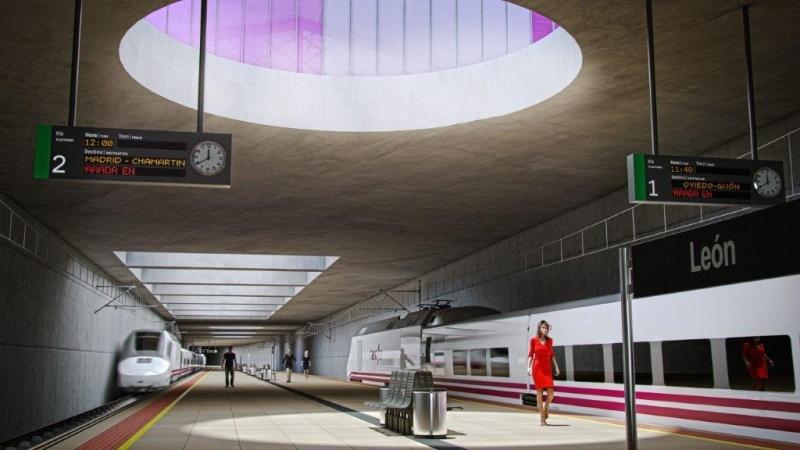 Detalle Estación De León