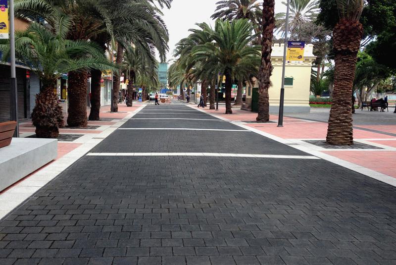Calle Luis Morote, en Las Palmas