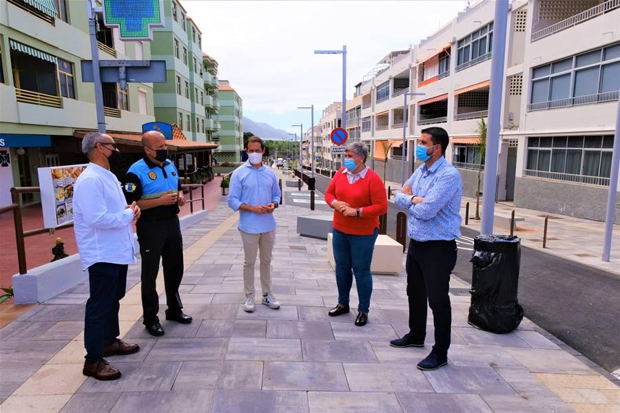 Cabildo Y Ayuntamiento Reabren Las Calles De La Zona Comercial Abierta De Puerto De Naos
